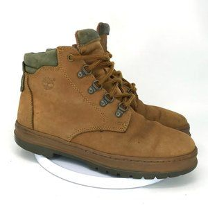 Timberland Men Brown Leather Chukka Boot Size 8